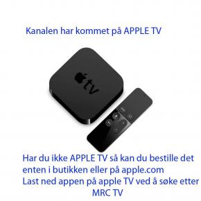 MRC på Apple TV